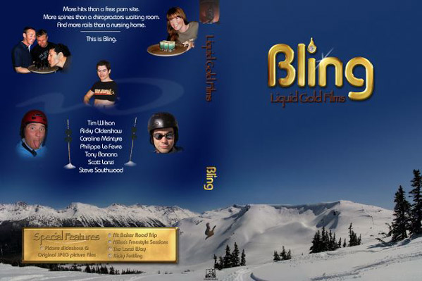 Bling DVD Cover